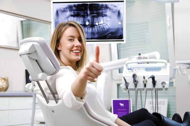 Glad patient hos tandlæge